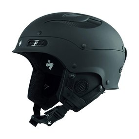 Sweet Protection Trooper II Ski & Snowboard Helm Dirt Black